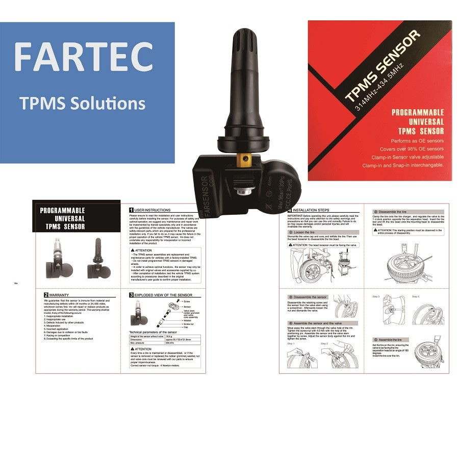 OE TPMS SENSOR for FORD F-550